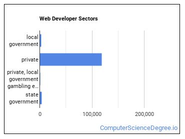 Web Developer Sectors