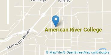 Location of American River College