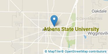 Location of Athens State University