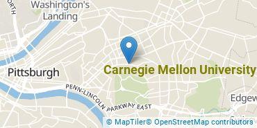 Location of Carnegie Mellon University