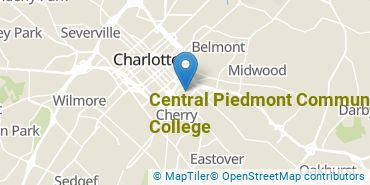 Location of Central Piedmont Community College