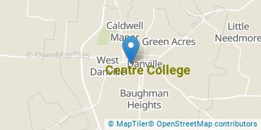 Location of Centre College