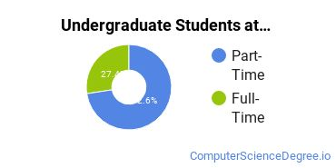 Full-Time vs. Part-Time Undergraduate Students at  Cleveland Community College