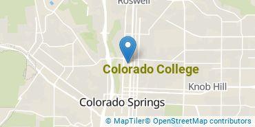 Location of Colorado College