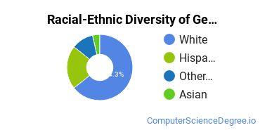 Racial-Ethnic Diversity of General Information Science Majors at Colorado State University - Pueblo