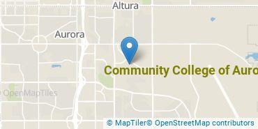 Location of Community College of Aurora