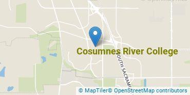 Location of Cosumnes River College