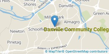 Location of Danville Community College