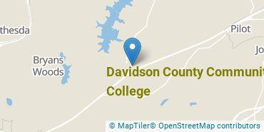 Location of Davidson County Community College