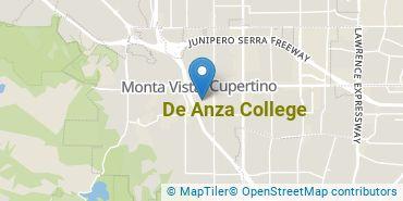 Location of De Anza College