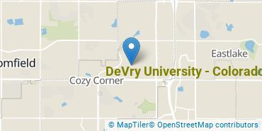 Location of DeVry University - Colorado