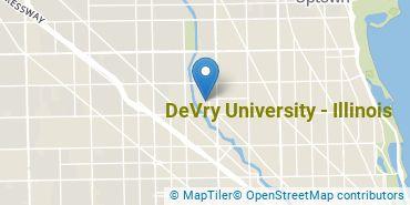 Location of DeVry University - Illinois