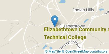 Location of Elizabethtown Community and Technical College