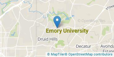 Location of Emory University