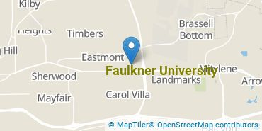 Location of Faulkner University