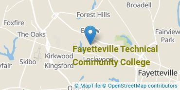 Location of Fayetteville Technical Community College