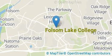 Location of Folsom Lake College