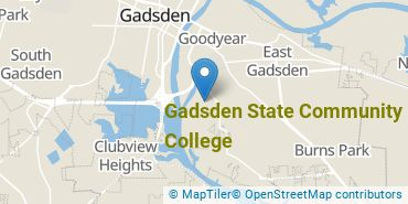 Location of Gadsden State Community College