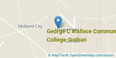 Location of Wallace Community College, Dothan