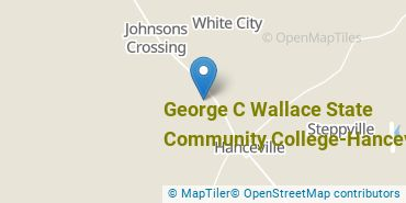 Location of Wallace State Community College, Hanceville
