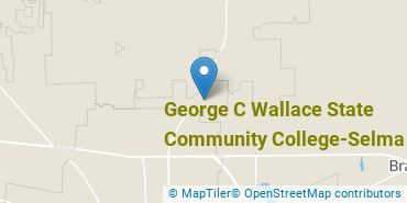 Location of Wallace Community College, Selma