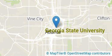 Location of Georgia State University
