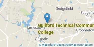 Location of Guilford Technical Community College
