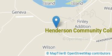Location of Henderson Community College