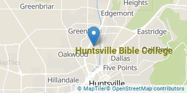 Location of Huntsville Bible College