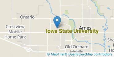 Location of Iowa State University