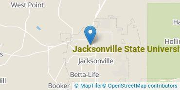 Location of Jacksonville State University