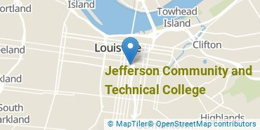 Location of Jefferson Community and Technical College