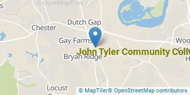 Location of John Tyler Community College