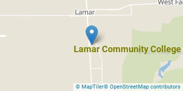 Location of Lamar Community College