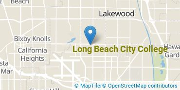 Location of Long Beach City College