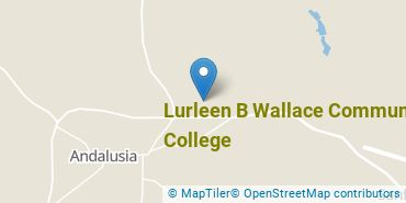 Location of Lurleen B Wallace Community College