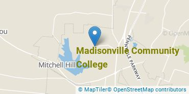 Location of Madisonville Community College