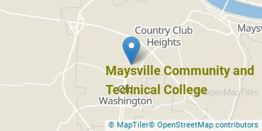 Location of Maysville Community and Technical College