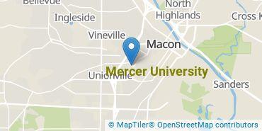 Location of Mercer University