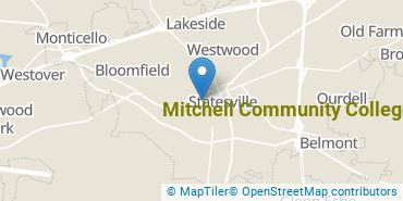 Location of Mitchell Community College