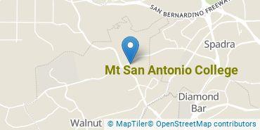Location of Mt. San Antonio College