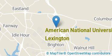 Location of American National University - Lexington