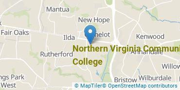 Location of Northern Virginia Community College
