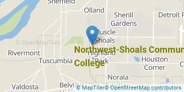 Location of Northwest-Shoals Community College