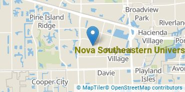 Location of Nova Southeastern University