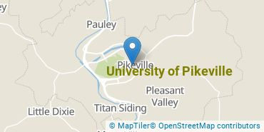 Location of University of Pikeville