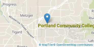 Location of Portland Community College