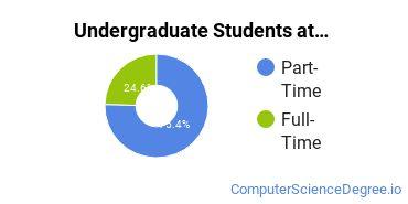 Full-Time vs. Part-Time Undergraduate Students at  RCC