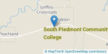 Location of South Piedmont Community College