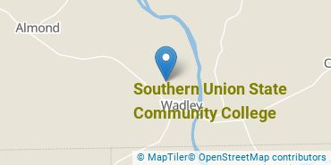 Location of Southern Union State Community College